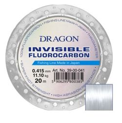 Dragon Invisible Fluorocarbon 0,32mm/20m 39-00-032
