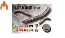 LIBRA LURES FATTY D'WORM 65 #038 BROWN KRILL