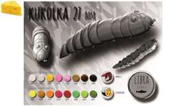 LIBRA LURES KUKOLKA 27 #038 BROWN / SER