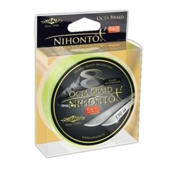 Nihonto Octa Braid 0,18mm/150m Z24F-018 Fluo