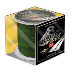 Nihonto Octa Braid 0,18mm/300m Z25G-018 Green