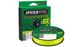 PLECIONKA SPIDERWIRE SMOOTH 8 YELLOW 300M 0,19MM