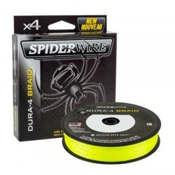 Plecionka SPIDERWIRE Dura 4 Yellow 0,10mm/150m 1450404