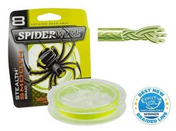 Plecionka SPIDERWIRE Stealth Smooth 8 Yellow 0,25mm/150m 1422166