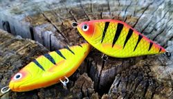 Wobler Lost Lures Ferox S 7cm 16g F27 Hot Tiger